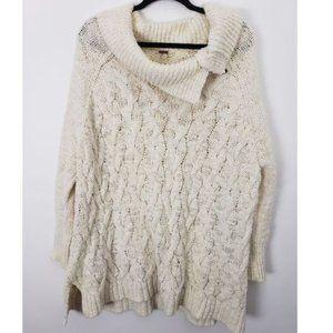 Free People Oversize Chunky Knit Sweater